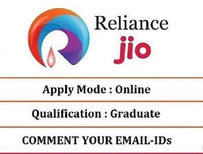 job vacancies in reliance jio dth