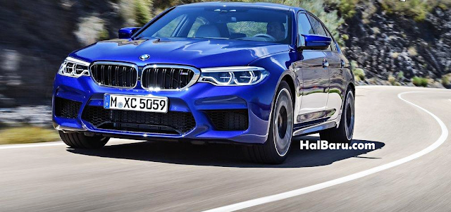 Kecepatan Mesin BMW M5