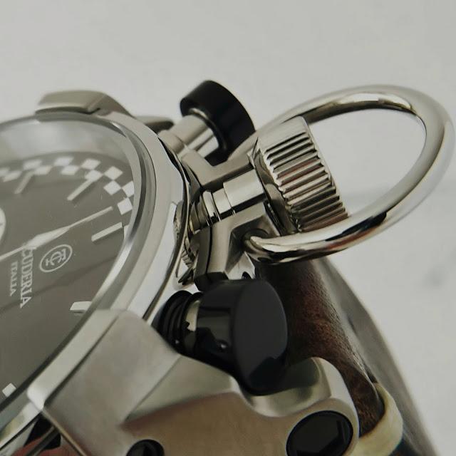 大阪 梅田 ハービスプラザ WATCH 腕時計 ウォッチ ベルト  公式 CT SCUDERIA CTスクーデリア Cafe Racer カフェレーサー Triumph トライアンフ Norton ノートン フェラーリ CS2020122 冬