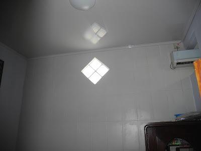 Hasil Pemasangan Shunda Plafon di Rumah Bapak Agus