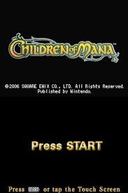 Download children of mana (firex) (eu) for nintendo ds | gamulator.