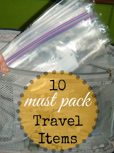 must-have travel items