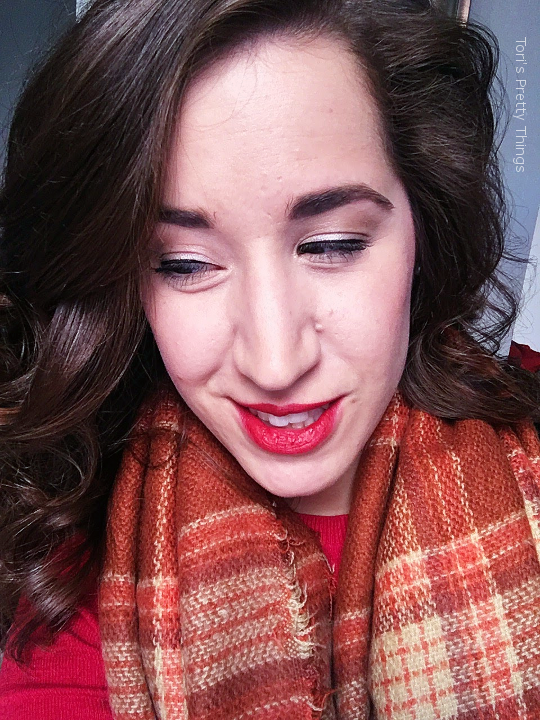 Tori's Pretty Things // Red Lips Makeup