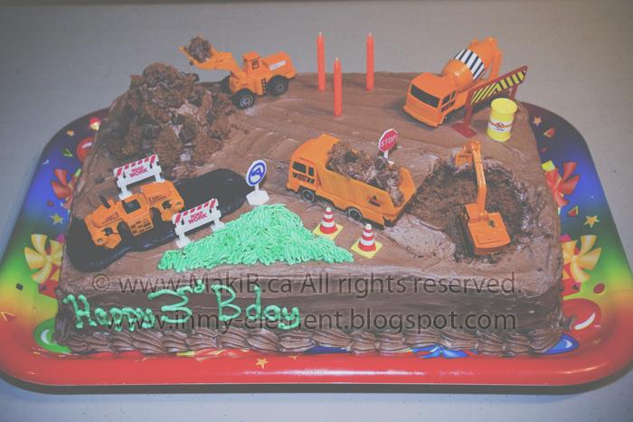 Construction Scene Birthday Cake In My Element