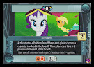 My Little Pony Timber! Rock N Rave CCG Card