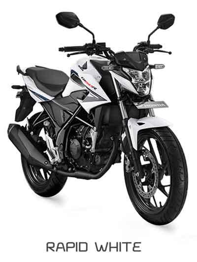 All New Honda CB150R Rapid White