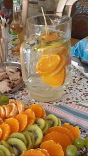 woda smakowa: pomarańcza, cytryna mięta