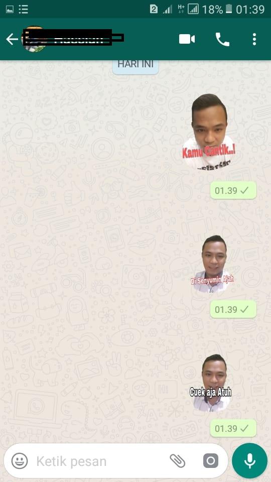 Cara Menciptakan Stiker Whatsapp Dengan Foto Sendiri Dengan Mudah