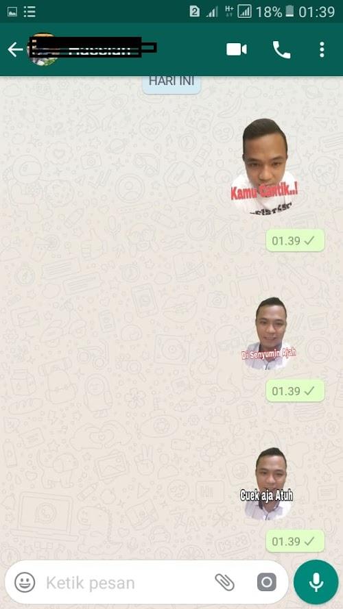 Cara Membuat Stiker WhatsApp dengan Foto sendiri dengan Mudah