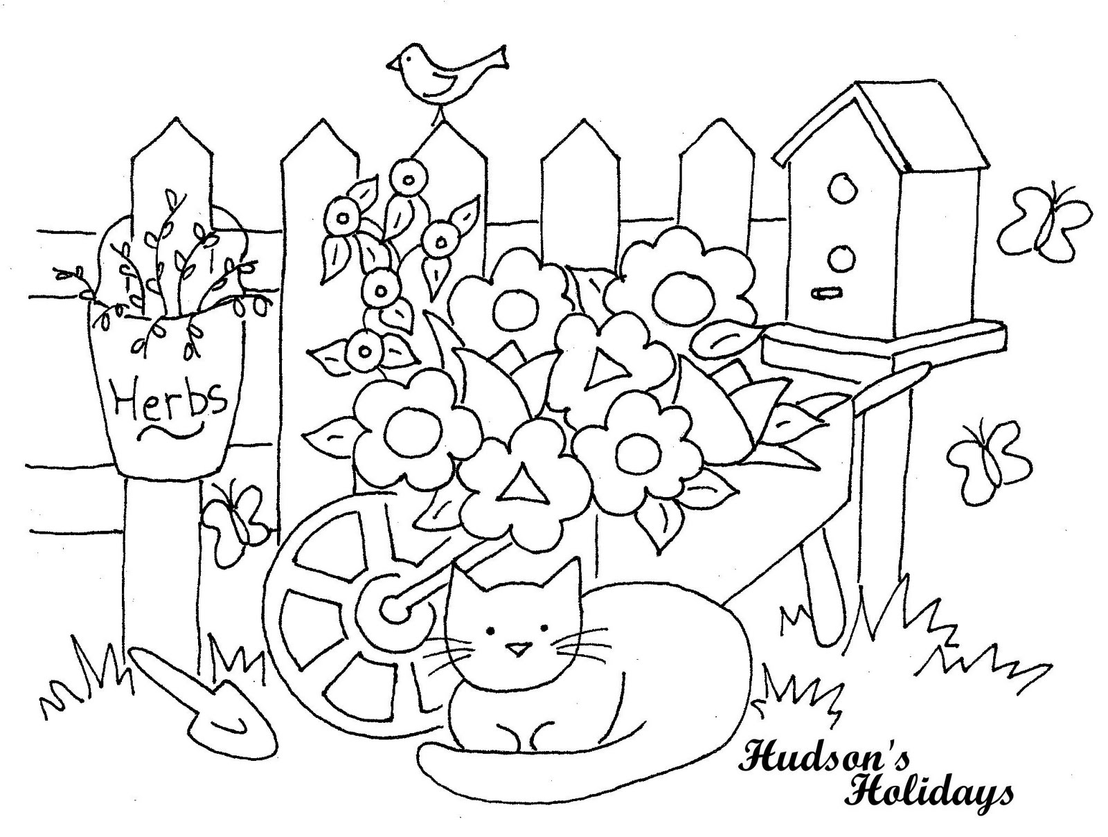 Hudson's Holidays - Designer Shirley Hudson: Cat in the ...