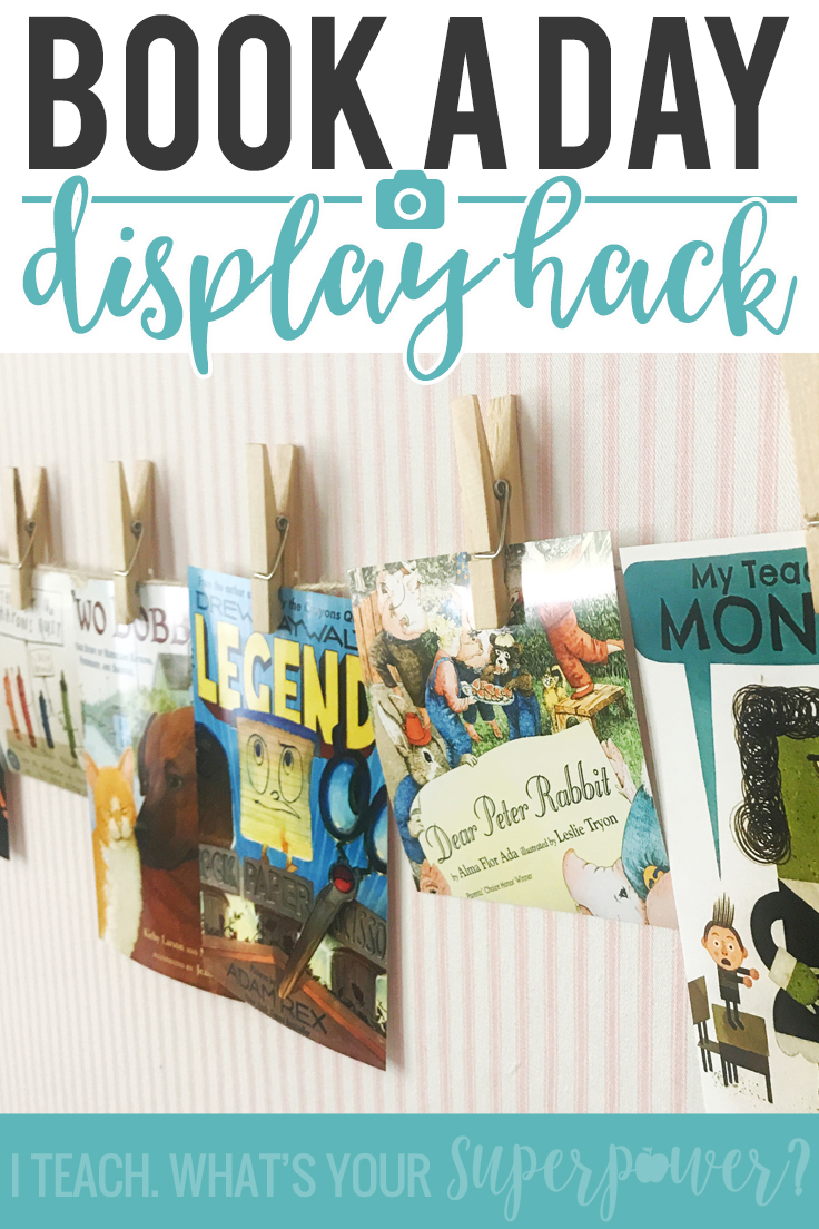 Make your Classroom Book a Day reads visible without spending a ton of time. Here's a simple hack that will have you caught up in no time.