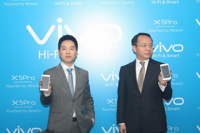 Duran Dong & Alex Feng perkenalkan vivo X5Pro