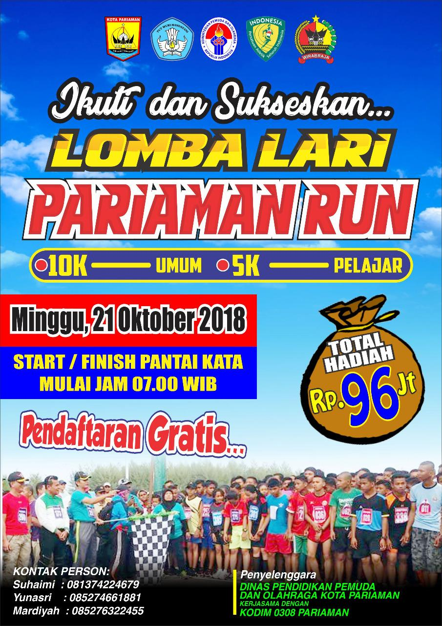 Pariaman Run • 2018