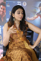 Rakul Preet Singh smiling Beautyin Brown Deep neck Sleeveless Gown at her interview 2.8.17 ~  Exclusive Celebrities Galleries 218.JPG