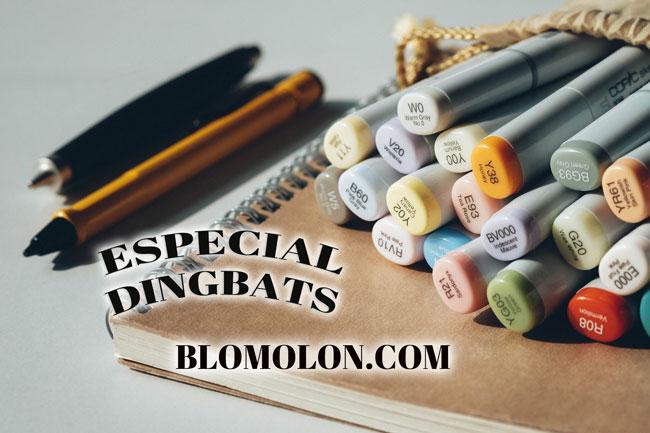 Especial-dingbats