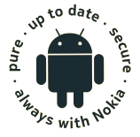 Pure, Secure, Up to Date, Always with Nokia