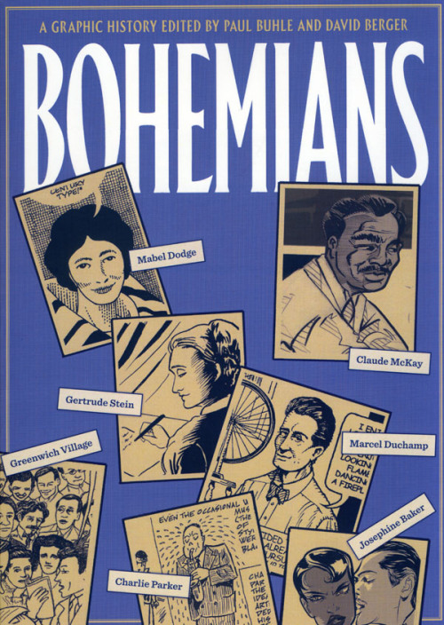 #LibrosPop: Bohemians: A Graphic History by Paul Buhle and David Berger - VersoBooks