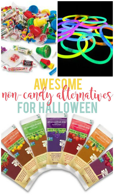 Awesome Non-Candy Alternatives for Halloween--Some great ideas for non-candy items to give out to the kids on Halloween!