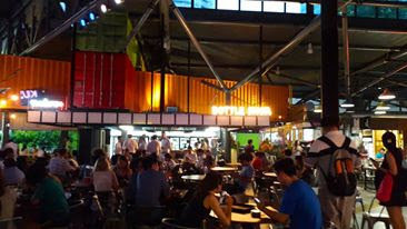 Timbre+ Food Court One North Singapore