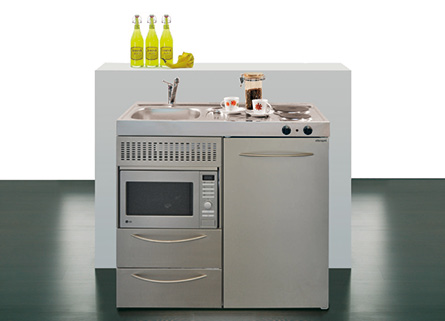 Mini cocinas compactas para pequeos espacios  Cocinas