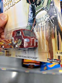 Hot Wheels Boba Fett  Ford Econoline Pickup