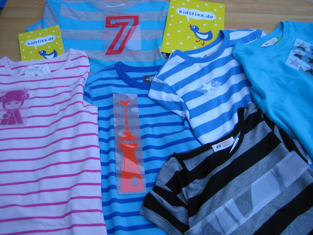 DIY T-Shirts mit Bügelbildern pimpen