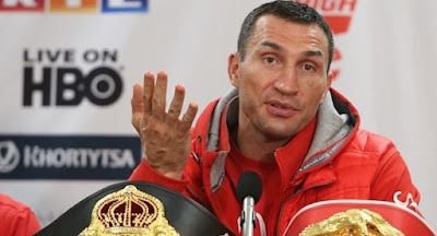 Володимир Кличко заявив про припинення боксерської кар'єри