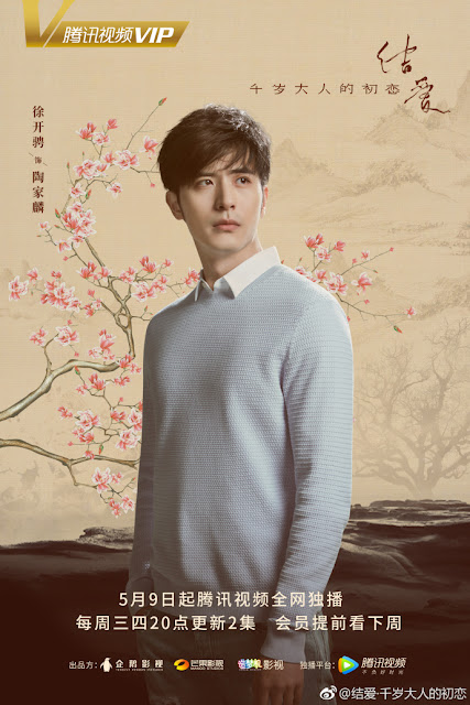 Xu Kai Zheng Character poster The Love Knot: His Excellency's First Love