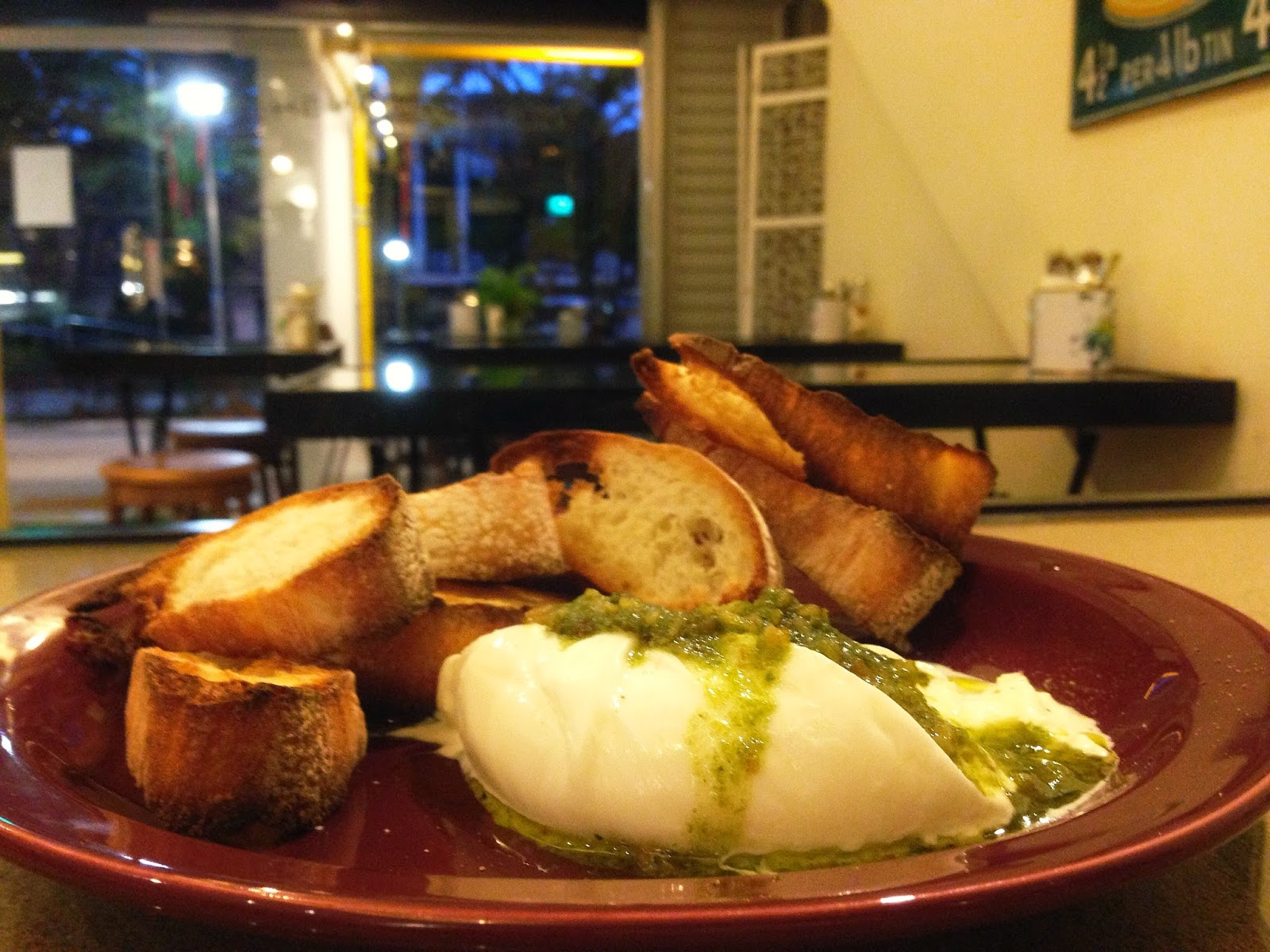 Burrata & Homemade Walnut Pesto