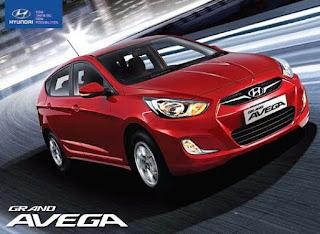 Tampilan Eksterior Hyundai Grand Avega