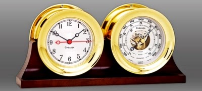 Chelsea clock and barometer