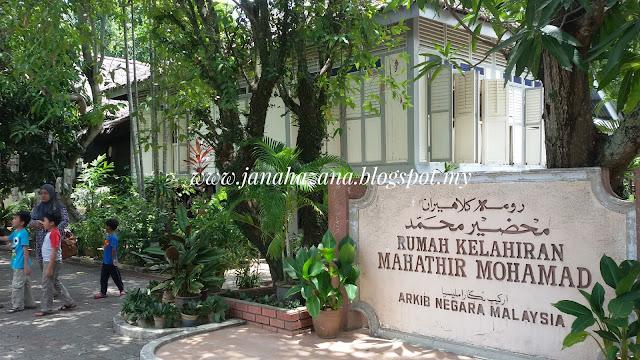 rumah kelahiran dr.mahathir