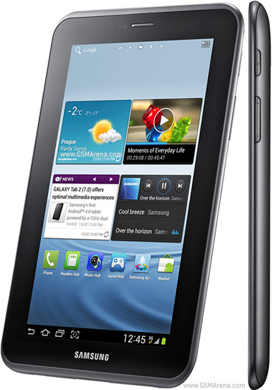 Samsung Galaxy Tab 2 7 0 P3110 Specifications, User Manual, Price