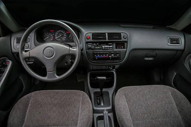 Honda Civic 1997 LX Automático - interior