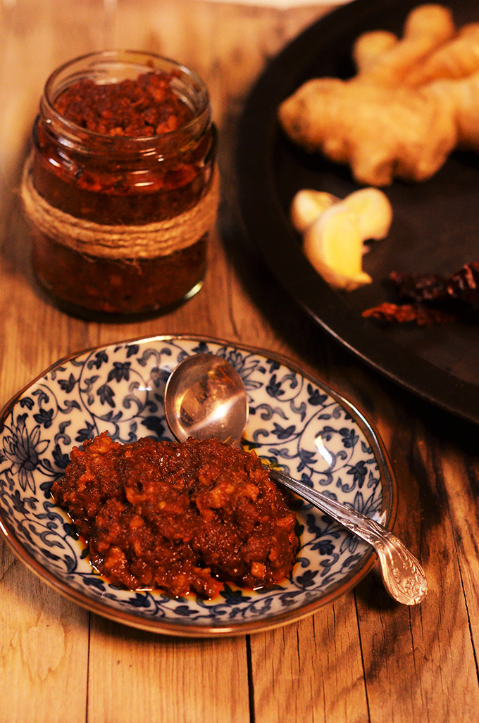 goan dried prawn balchao pickle