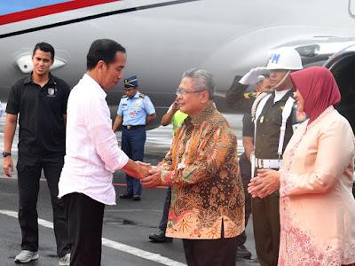 Usai Kunjungan ke Papua & Papua Barat, Presiden Jokowi Tiba di Semarang - Info Presiden Jokowi Dan Pemerintah