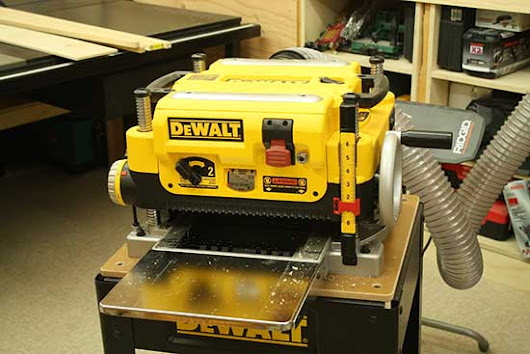 Dewalt dw735x 13 Two Speed Planer Review | EnCountMe