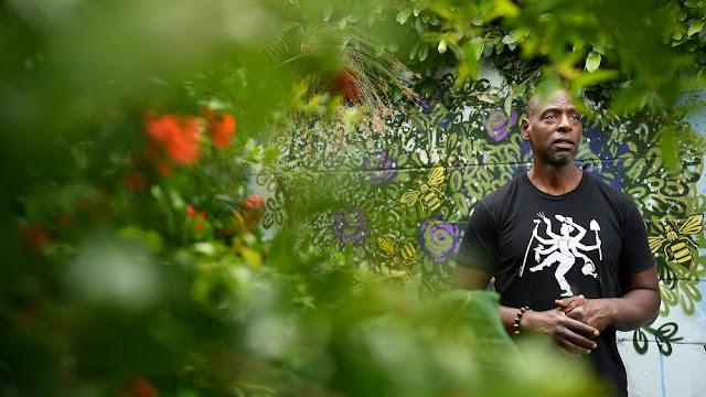 Ron Finley, a gardener in LA