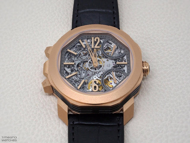 Bulgari Octo Grande Sonnerie in Rose Gold Ref. 102865