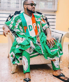 Davido Releases List of Those he Will Vote for in Next Week Elections.