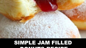#The #World's #most #delicious #Simple #Jam #Filled #Donuts #Recipe