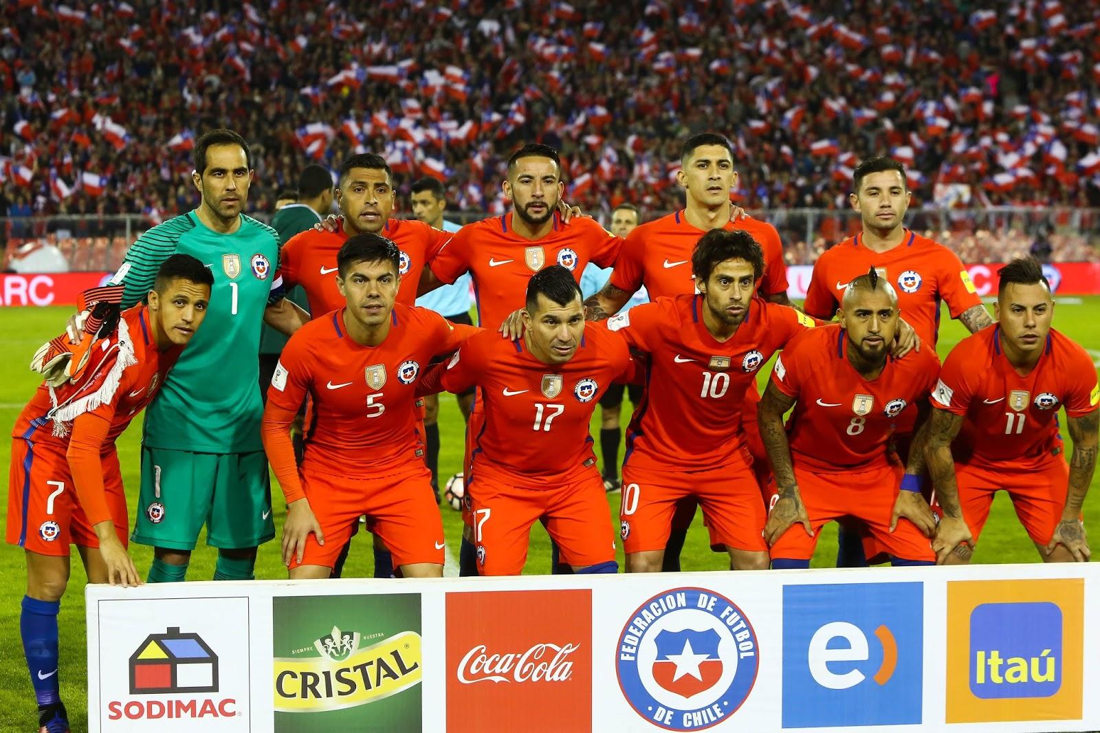 Formación de Chile ante Ecuador, Clasificatorias Rusia 2018, 5 de octubre de 2017