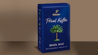 tchibo privat brazil mild kahve  - KahveKafeNet