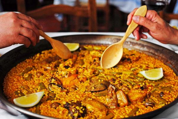 paella, Valencia, España, Spain, gastronomía, dieta mediterránea, arroces,
