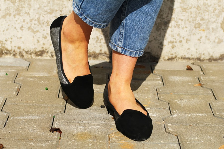 shoes flats style blogger