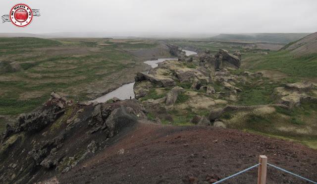 Hljóðaklettar, Vesturdalur, Islandia