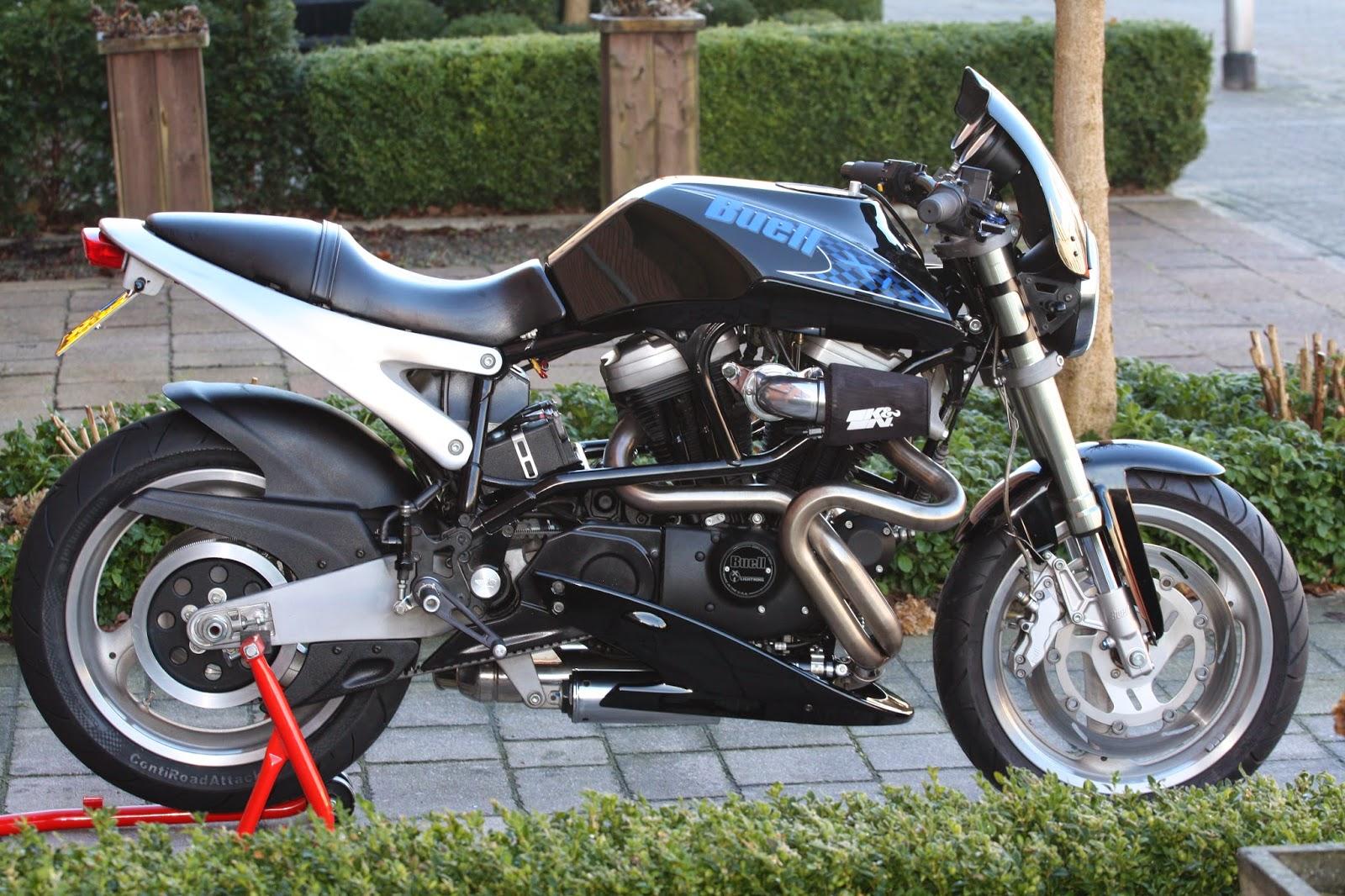 DD Motorcycles: BUELL X1 LIGHTNING MIDNIGHT BLACK 2001