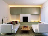 Minimalist Living Room for Modern House Design
