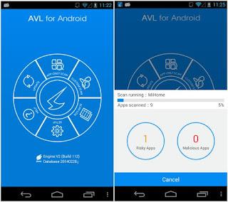 تطبيق AVL