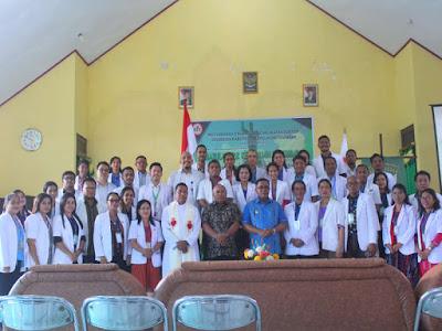 Petrus Fatlolon Apresiasi Ikatan Dokter Indonesia (IDI) Kepulauan Tanimbar